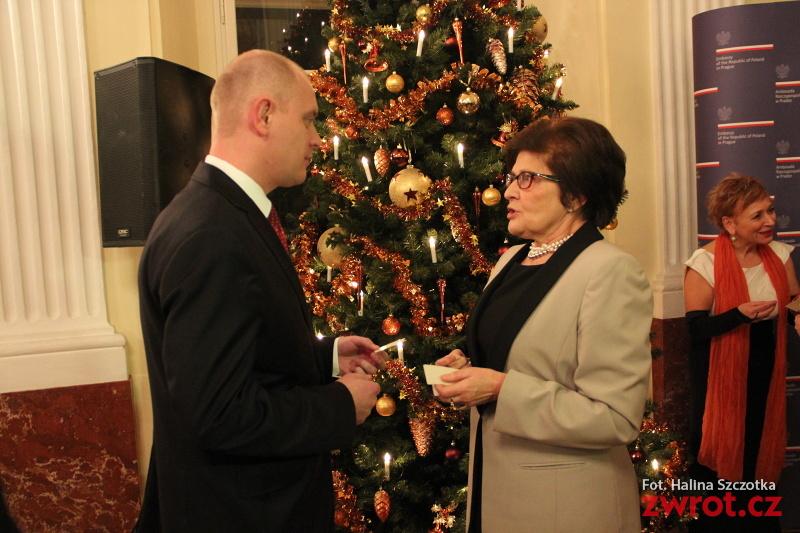 Opłatek Polonijny w Ambasadzie