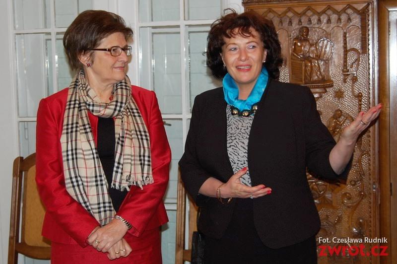 Ambasador Grażyna Bernatowicz spotkała się z Zaolziakami