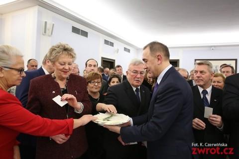 Opłatek w Warszawie
