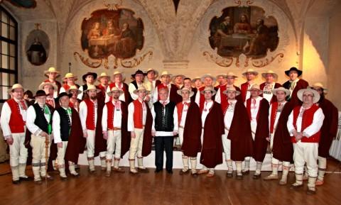 Gorol kolędował w Pradze