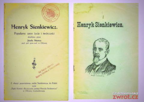 W hołdzie Sienkiewiczowi