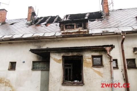Pożar w Wędryni – zginęły 3 osoby i pies (aktualizacja)