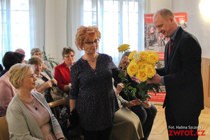 Kwiatek dla kobiet