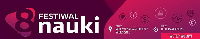 VIII Festiwal Nauki w Cieszynie już za tydzień