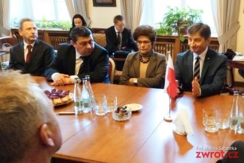 Marszałek Sejmu RP z wizytą w Pradze