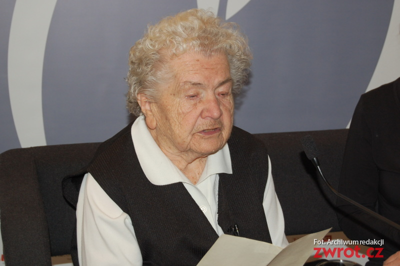 Aniela Kupiec kończy dziewięćdziesiąt siedem lat