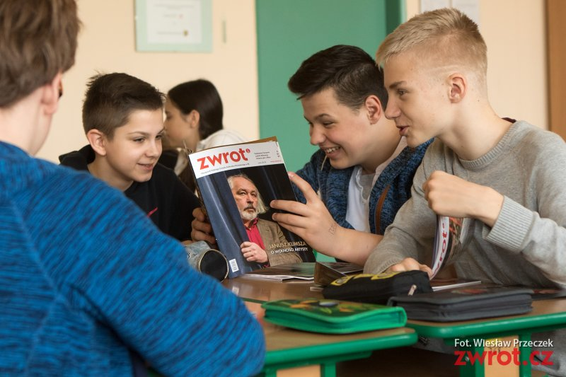 Młodzi dziennikarze z Frysztatu