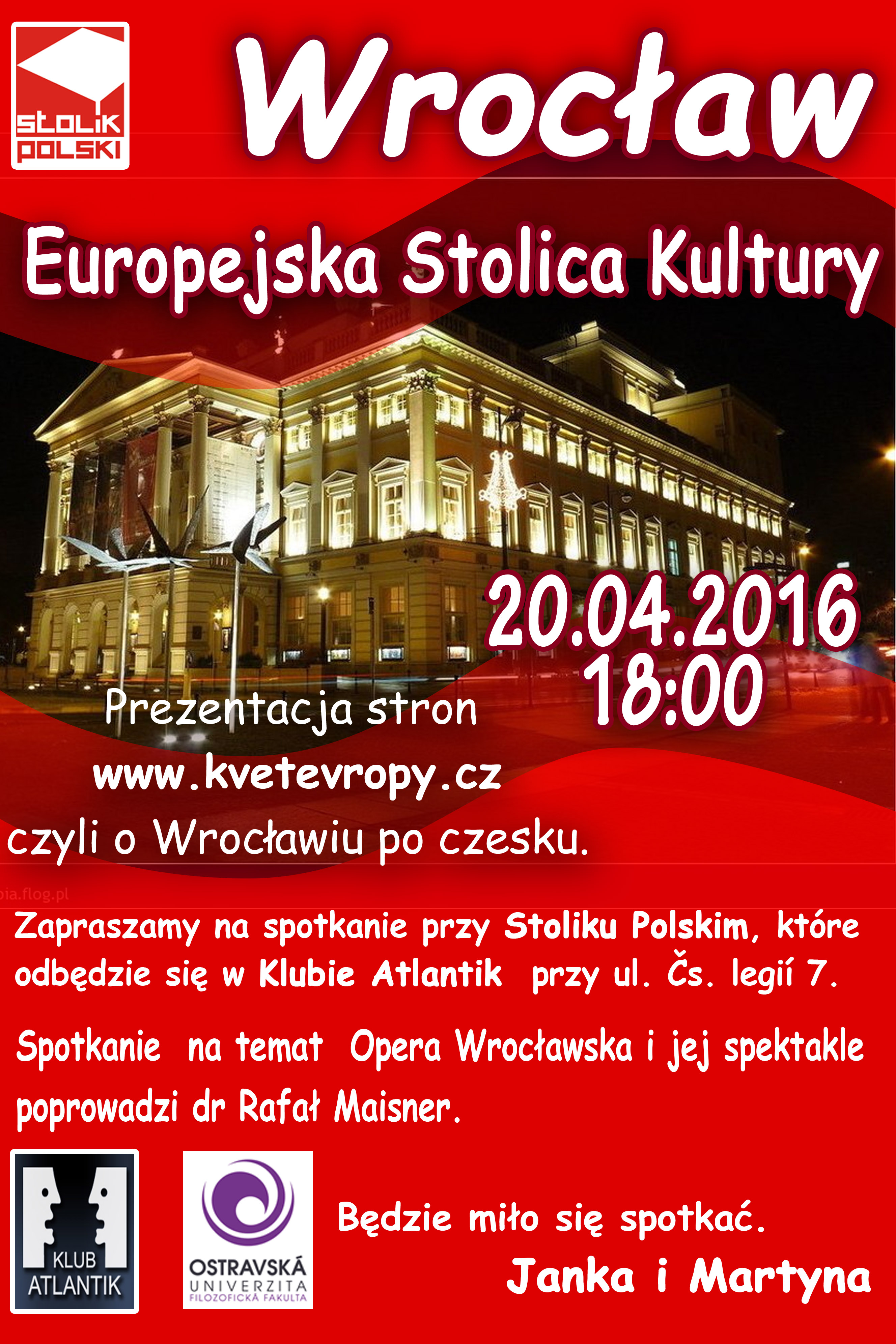 Kwietniowy Stolik Polski w Ostrawie
