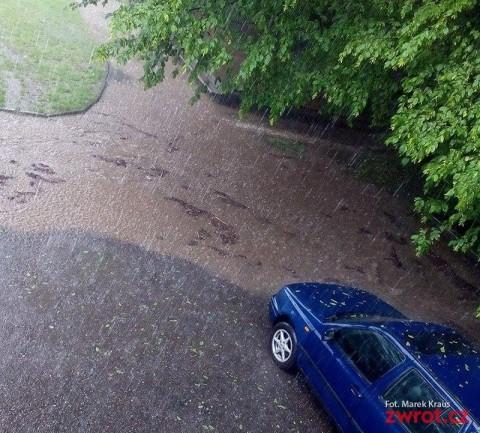 Woda w Domu PZKO w Nieborach