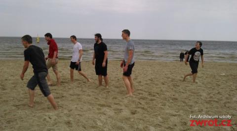 Uczniowie Gimnazjum nad Bałtykiem