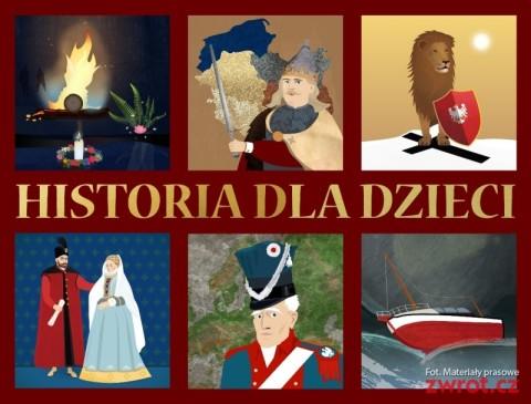 Ciekawe lekcje historii dla dzieci