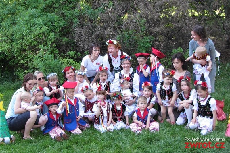 Festyn przedszkolaków w Brnie
