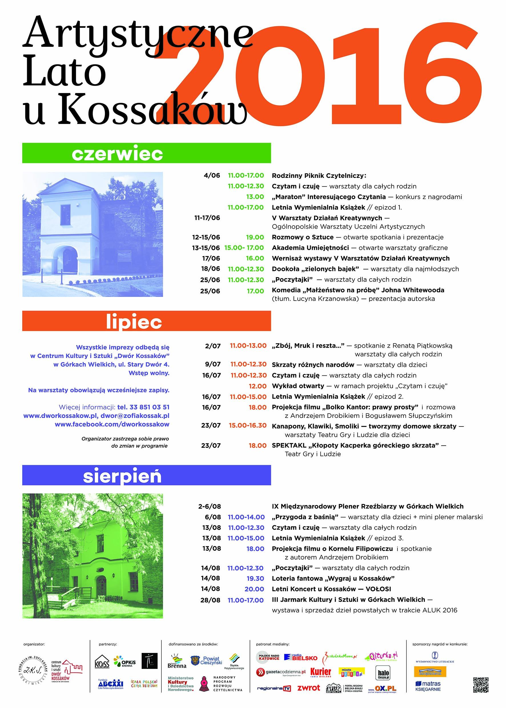 Artystyczne Lato u Kossaków