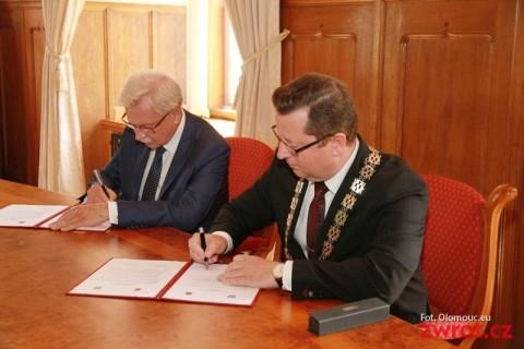 Kraków i Ołumuniec chcą współpracować