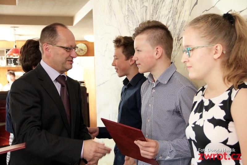 Najlepsi uczniowie z Czeskiego Cieszyna