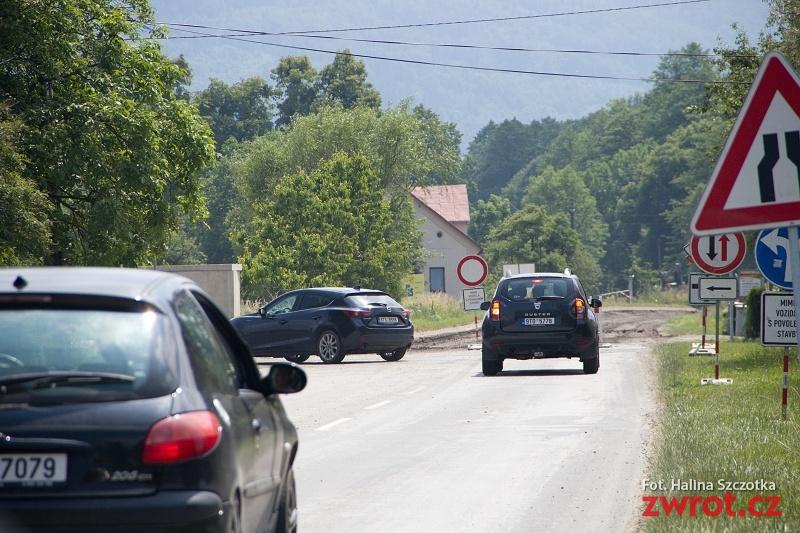 Uwaga, zamknięta droga w Oldrzychowicach