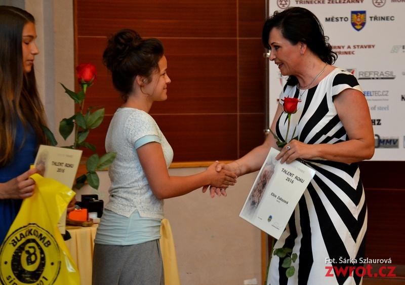 Polscy uczniowie nagrodzeni, Eliza Zalisz laureatką nagrody Talent Roku