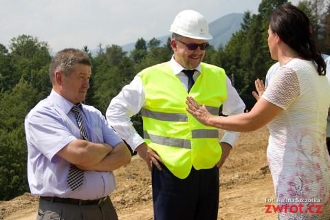 Minister Dan Ťok obiecał również trzeci odcinek drogi na Słowację