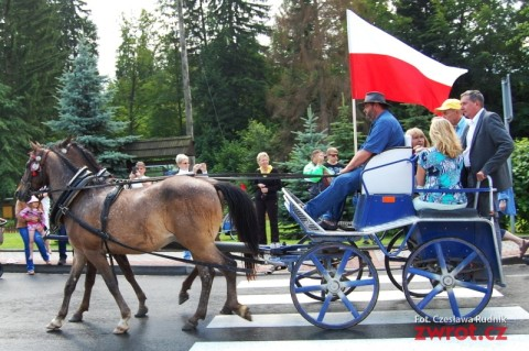 W Łomnej podziwiano konie i jeźdźców
