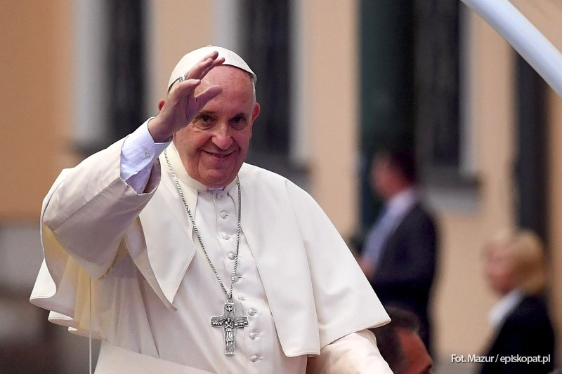 Papież zmienił plany!