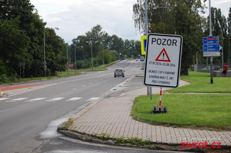 Zamknięcie mostu na Stonawce skomplikuje sytuację w ruchu drogowym