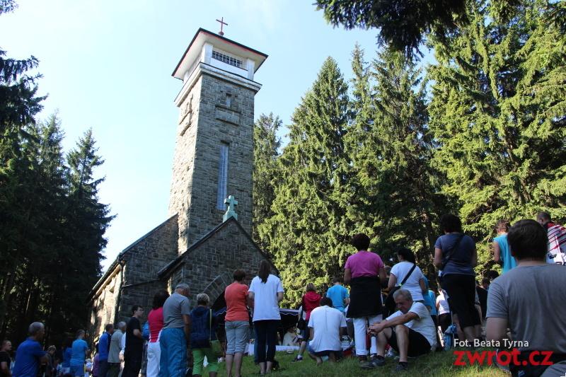 Odpust św. Anny na szczycie Kozubowej