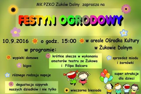 Festyn Ogrodowy w Żukowie Dolnym