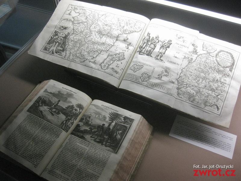 Świat wyobrażony i odkryty. Wystawa w Książnicy Cieszyńskiej