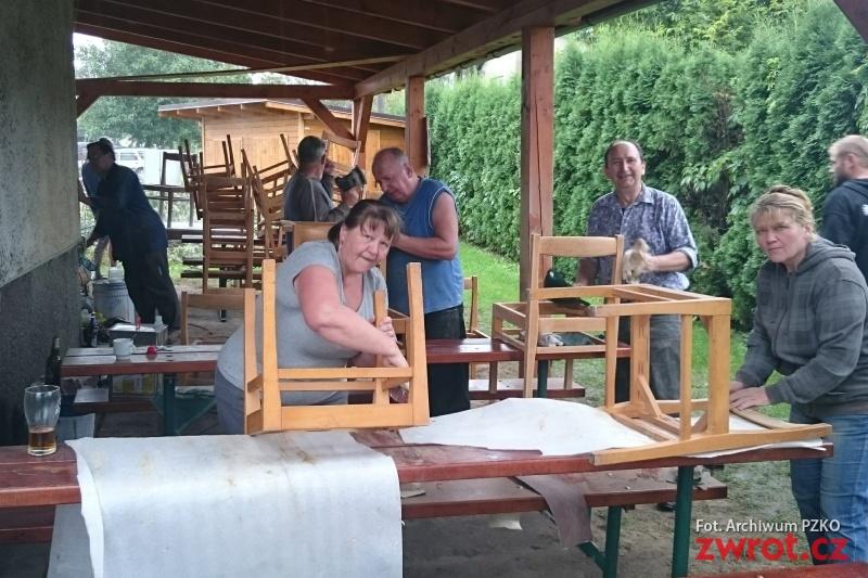 Nowe krzesła na jubileusz