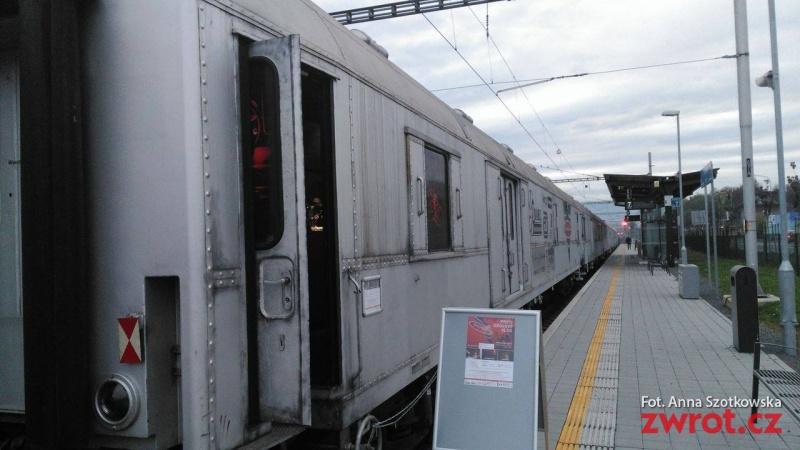 Pociąg antynarkotykowy w Cz. Cieszynie i Hawierzowie