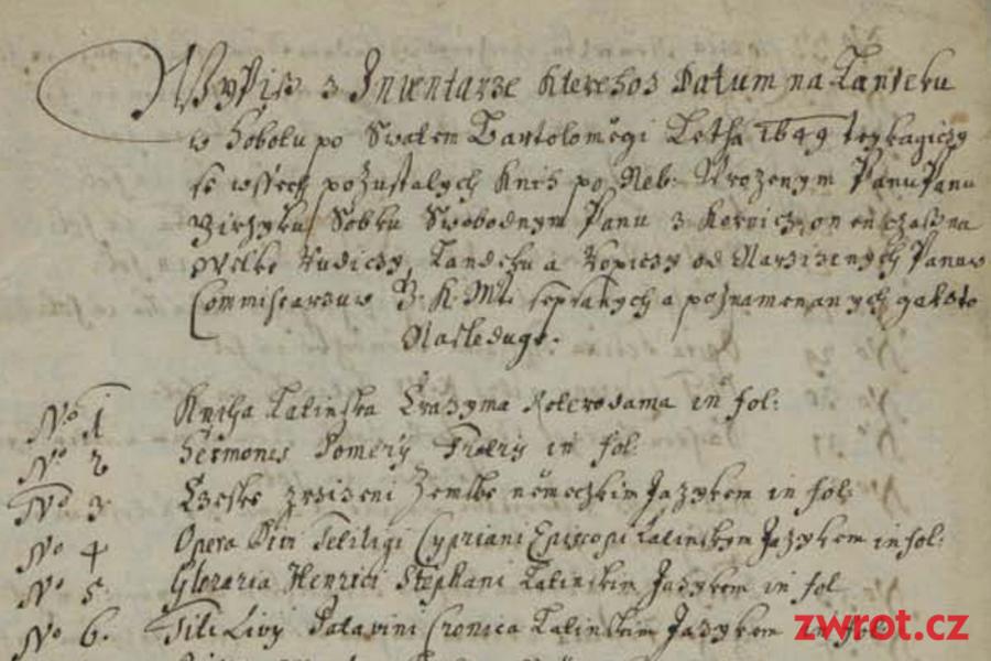 O księgozbiorze Jerzego Sobka z Kornic