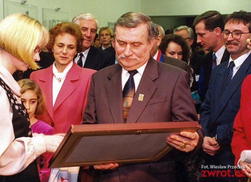 Przyjeżdża Lech Wałęsa