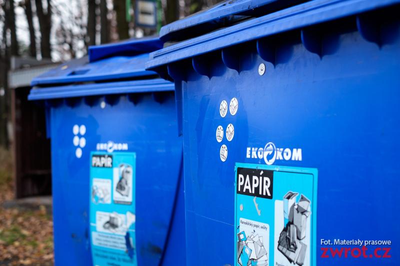 Naklejki motywują do segregowania śmieci