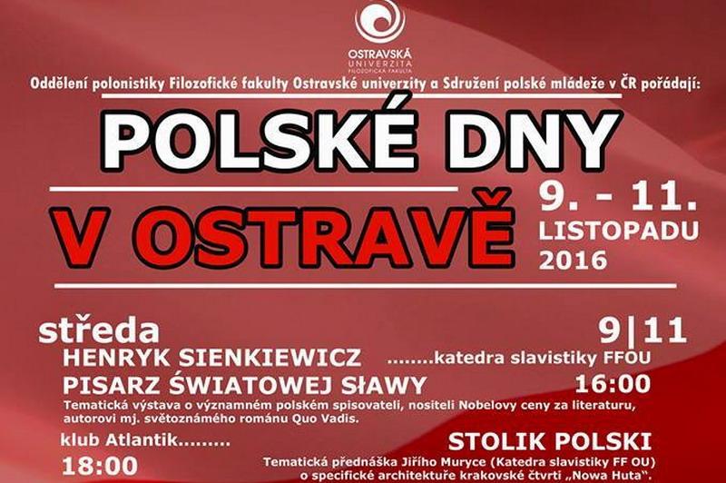 W Ostrawie odbędą się Polskie Dni