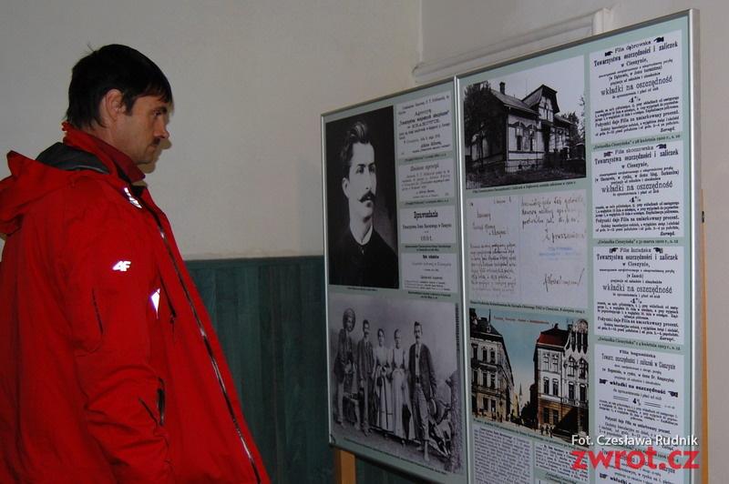 Wystawa o Parku Sikory i jego fundatorze
