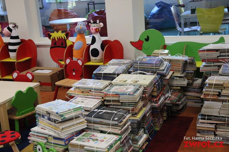 Pomoc dla dzieci z domu dziecka w bibliotece
