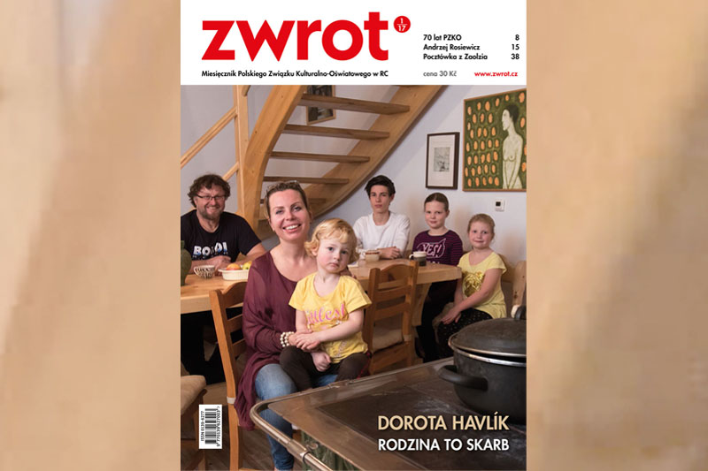 "Dorota Havlík zaprasza do lektury nowego ""Zwrotu"""