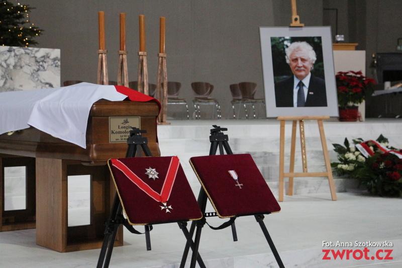 Pożegnano śp. Longina Komołowskiego