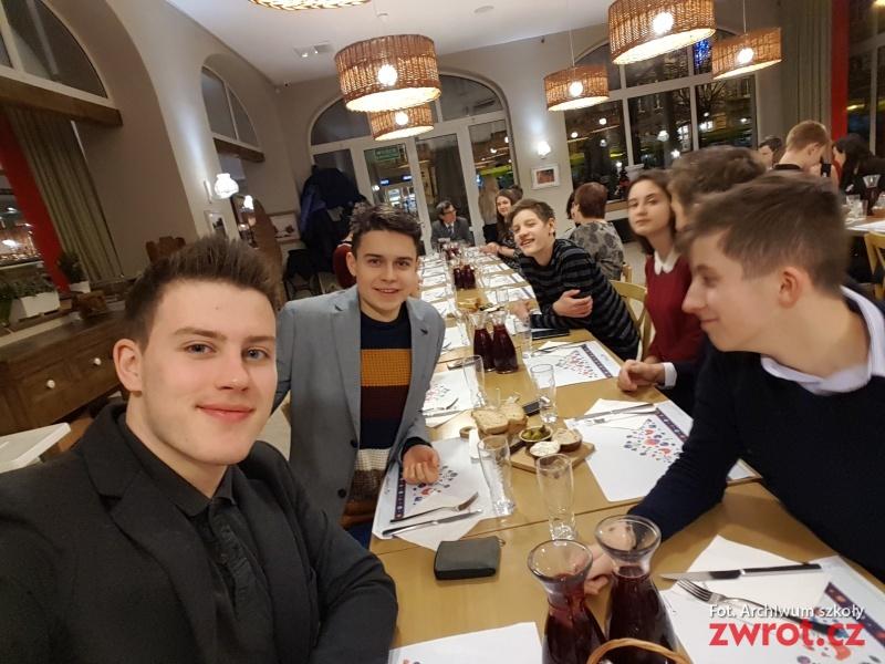 Uczniowie Gimnazjum w Poznaniu