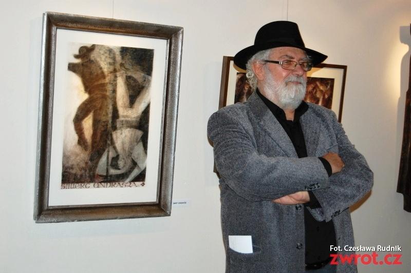 Jubileuszowa wystawa karwińskiego artysty