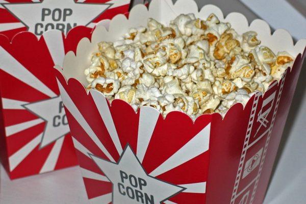 Darmowy popcorn dla wiernych widzów