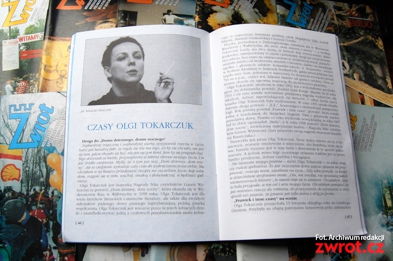 Czasy Olgi Tokarczuk