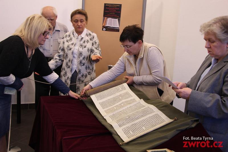 Purim w Książnicy Cieszyńskiej