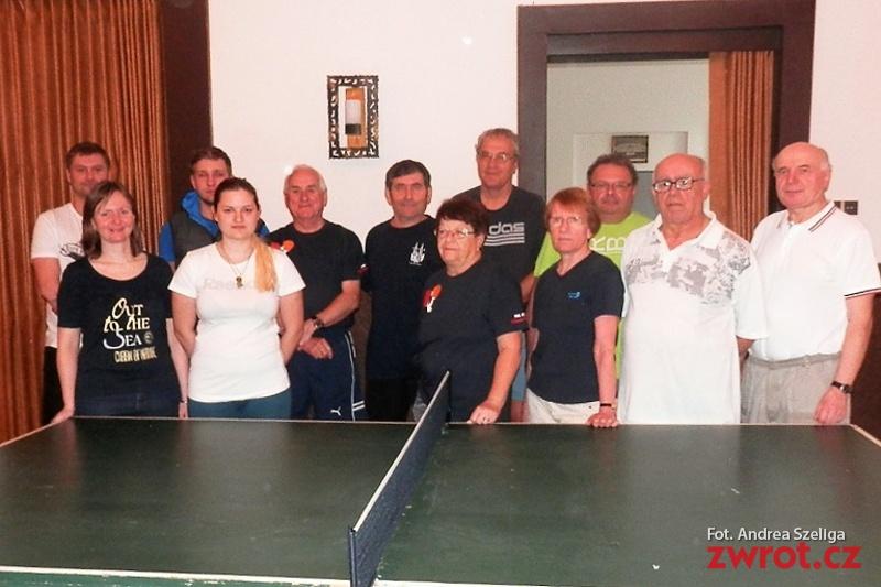 W Skrzeczoniu rozegrano mistrzostwa w tenisie stołowym