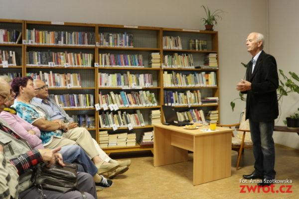 Spotkanie z autorem Rajskiej jabłonki w Mostach
