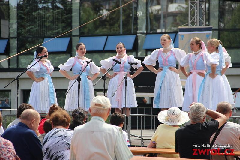 Kulturowa różnorodność na rynku w Trzyńcu