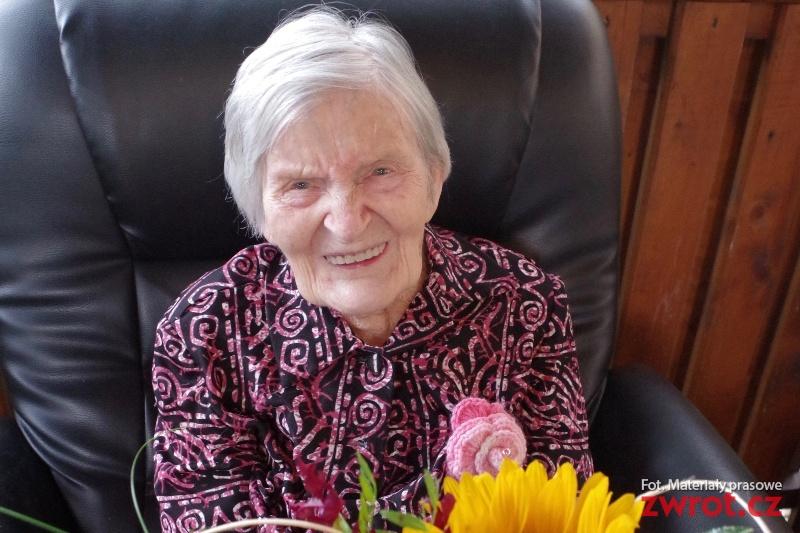 Pani Františka obchodziła setne urodziny