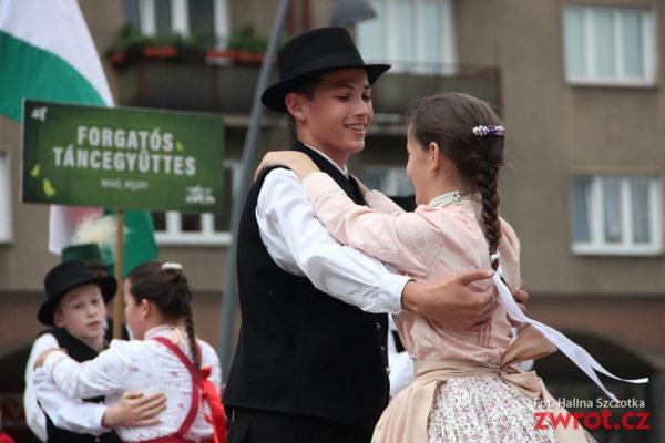 Małe Oldrzychowice przywiozły do Trzyńca węgierskich przyjaciół