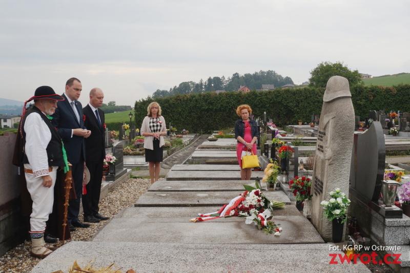 Minister złożył kwiaty na grobach Młynka i Niedoby