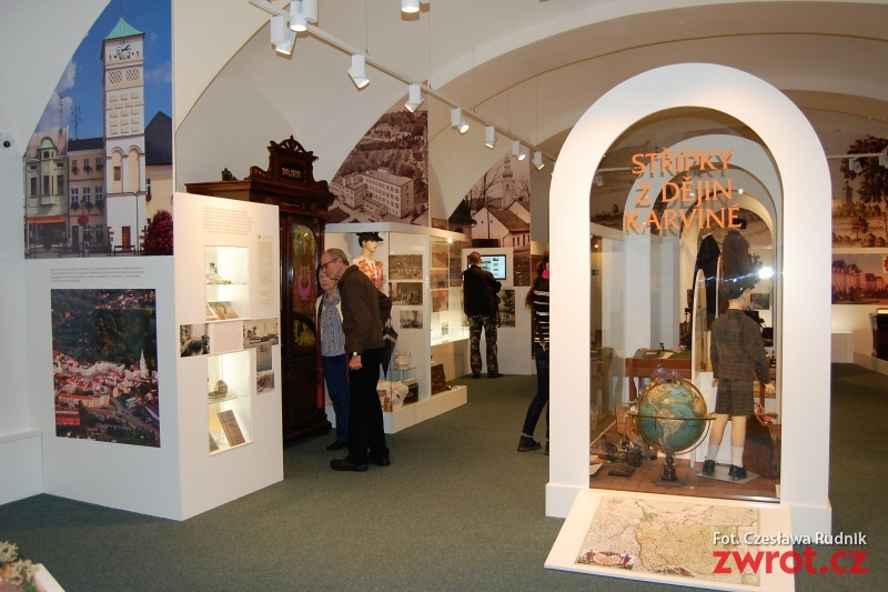 Wystawa o założeniu Frysztatu